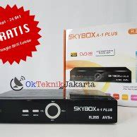 Skybox A1 Plus H 265 jual beli set top box tv digital media player