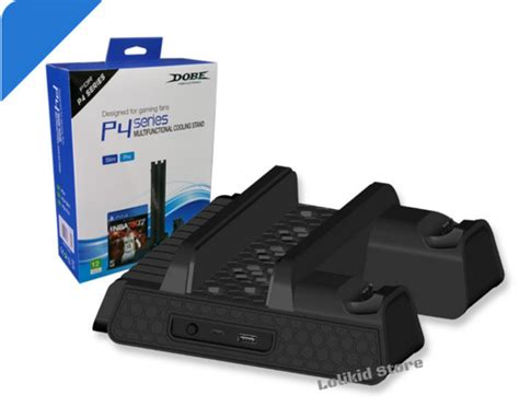 Dobe Multifunctional Cooling Stand wts ps4 dobe multifunctional cooling stand