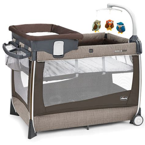 Chicco Chicco Lullaby Magic Playard Rattania Travel Crib Babies R Us