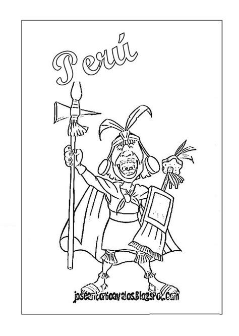 Peru Inca Coloring Sheets Pictures To Pin On Pinterest Inca Coloring Pages 2
