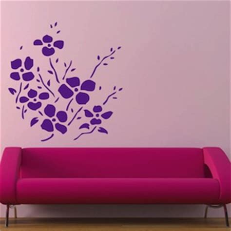 trendy wall designs trendy flower bunch decals wall stickers trendy wall