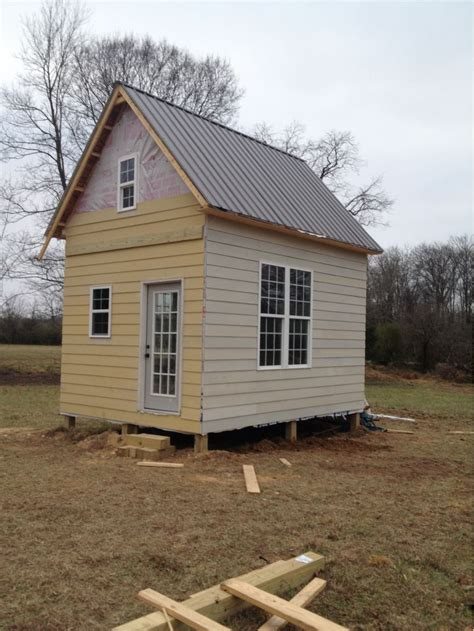 12x16 Cabin With Loft by 12x16 With Loft In Alabama Small Cabin Forum