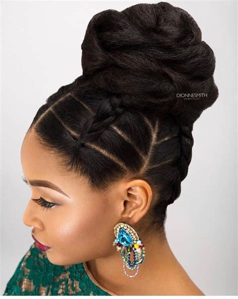 elegant natural hairstyles pinterest simple but elegant follow for more styles www