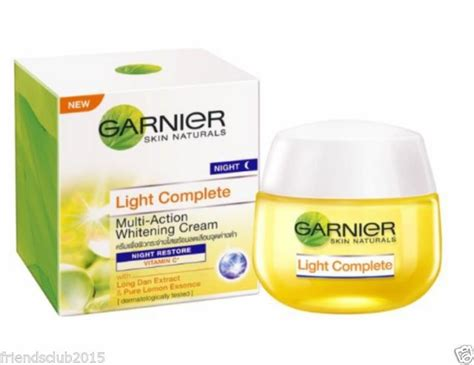 Garnier Serum Lightening garnier light complete skin whitening serum 50