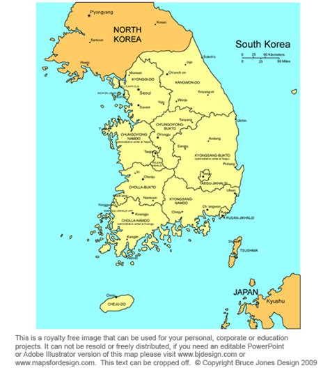 where is south korea on the map obryadii00 map of south korea provinces