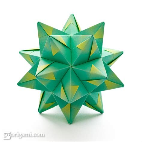 origami polyhedra polyhedron origami 28 images origami spikes and