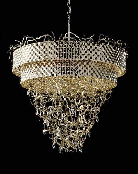 modern contemporary gold metal chandelier idll463k12