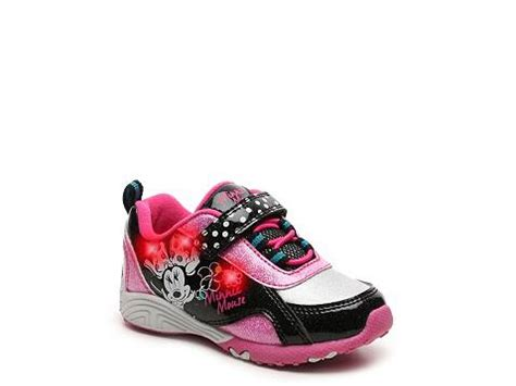 light up minnie mouse disney minnie mouse toddler light up sneaker dsw