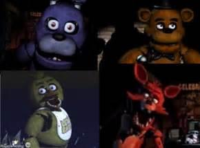 Fnaf 3 characters coloring kids myideasbedroom com