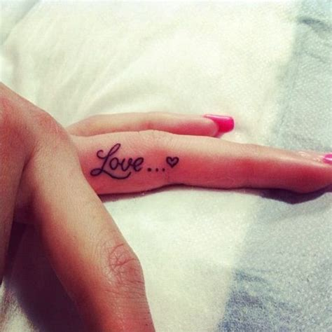 female finger tattoos designs 40 finger designs for