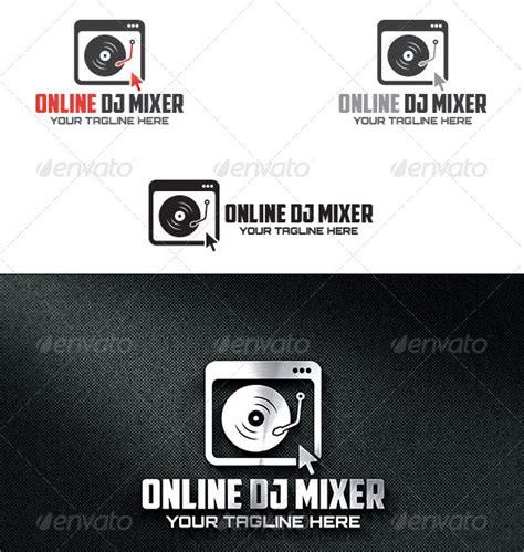 dj logo template 41 free psd eps vector ai