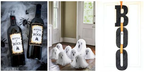 at home halloween decorations 40 easy diy halloween decorations homemade do it