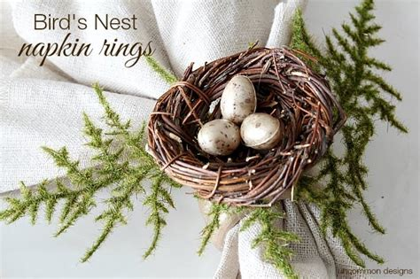 the birdmaker s nest where your treasure will be found safe and sound books how to make bird s nest napkin rings uncommon designs