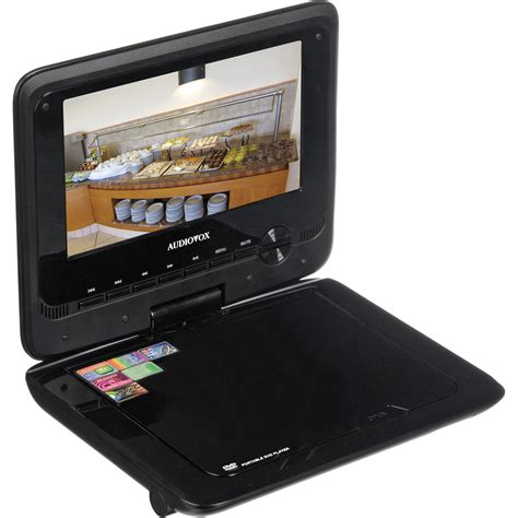 format audio vox audiovox ds7321 7 quot portable dvd player ds7321 b h photo