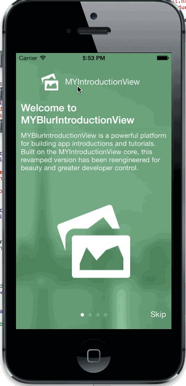 github intro tutorial matthewyork myblurintroductionview a super charged version