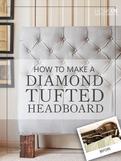 do it yourself tufted headboard 1000 ideas about tufted headboards on pinterest