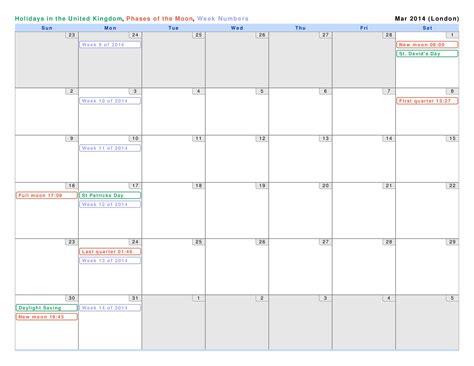 2014 Calendar Pdf Calendar March 2014 Print Pdf Abc Calendar Co Uk