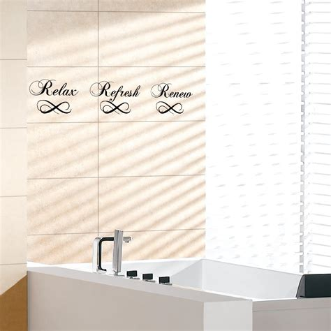 Wall Sticker Bathroom Soak Relax Enjoy Quotes Vinyl Decor relaxing quotes promotion shop for promotional relaxing quotes on aliexpress