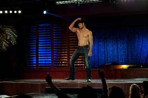 we became male strippers magic conclusion magic mike is the blue crush of male