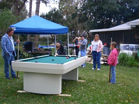 backyard pool table outdoor pool table homearcades com