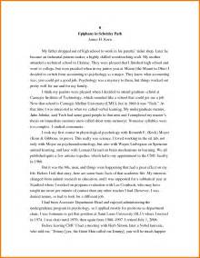 Student Sample Essay 8 Autobiography Examples For College Students Appeal