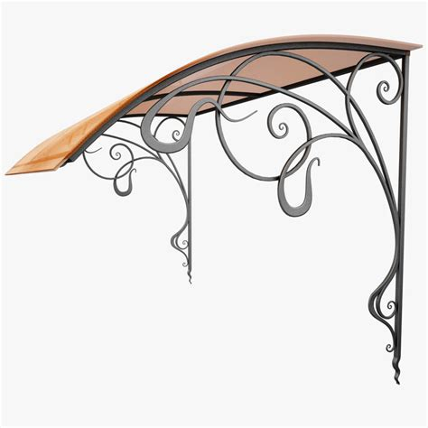 Wrought Iron Awning by 3dsmax Wrought Iron Awning