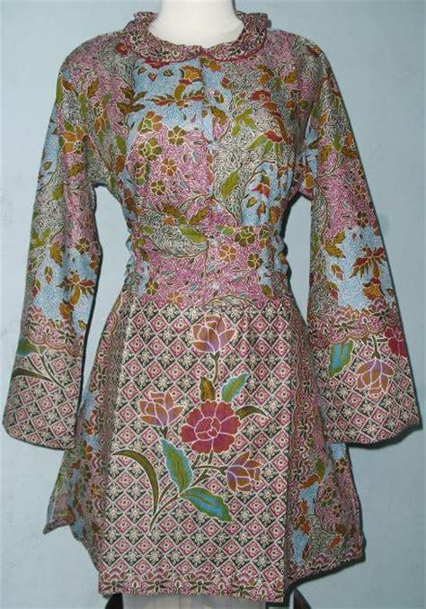 desain jaket nurul musthofa blus batik baru desain dan produksi mode dan busana