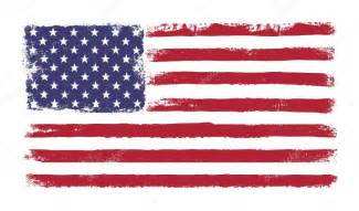 colors of american flag and stripes grunge version of american flag with 50