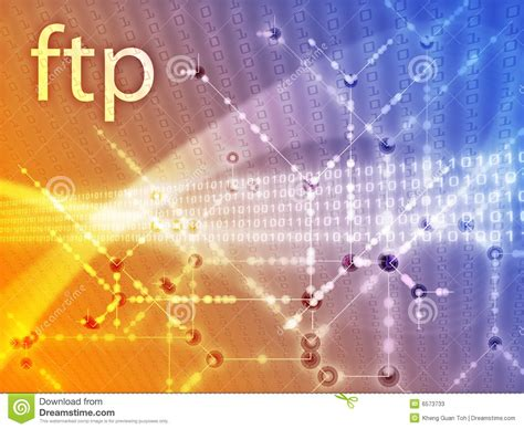 ftp data ftp data illustration stock photos image 6573733