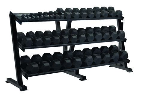 Rak Dumbbell hex professional tray dumbbell rack equipment storage york