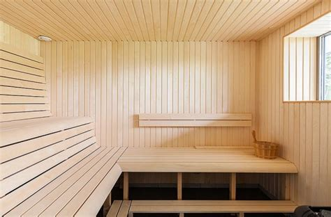 awesome Texture In Interior Design #5: Modern-Villa-Sauna-1-600x395.jpg