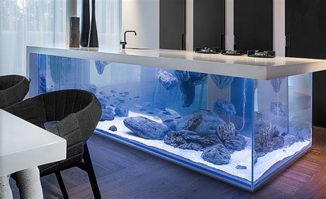 kitchen design aquarium 10 amazing kitchen islands and counters that steal the show