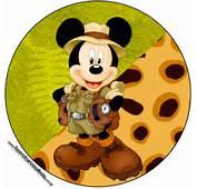 Convite Mickey Safari Car Interior Design