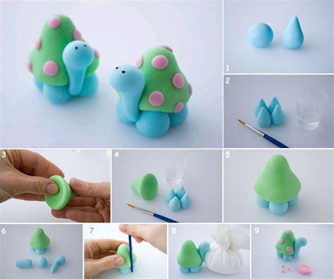 diy clay projects diy polymer clay turtle fabdiy