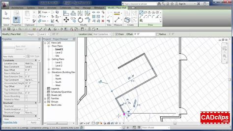 remove grid layout view autocad revit ceiling in a regular floor plan cadclips youtube