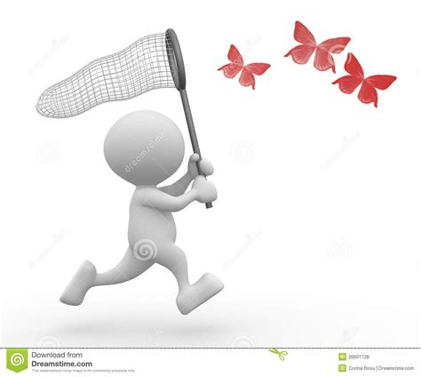 butterfly net royalty free stock photos image 26601728