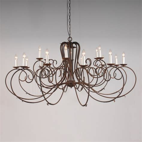 Wrought Iron Chandeliers Uk The Clifton 18 Arm Wrought Iron Chandelier Bespoke Lighting Co