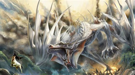 imagenes art cool white dragon wallpapers wallpaper cave