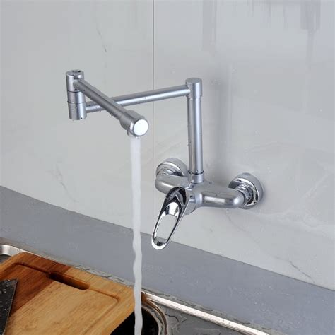 wall mounted kitchen sink faucets and cold kitchen faucet can be rotated wall kitchen