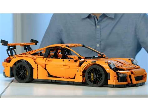 porsche 911 gt3 kit lego presenta el kit porsche 911 gt3 rs autocosmos