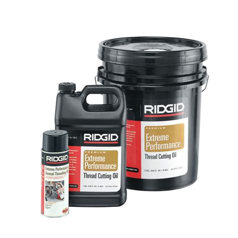 Cutting 55 Galon 41610 ridgid 41610 55 gallon nu clear plus threading