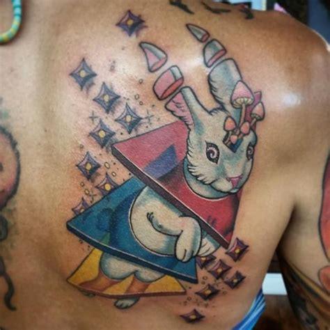 japanese tattoo rabbit fantasy back rabbit tattoo by anthony ortega