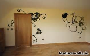 designer wall paint stencilling hand painted bespoke interior design