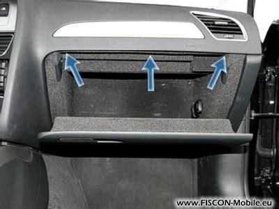 Audi A4 B6 Handschuhfachdeckel Ausbauen by Fiscon Bluetooth Freisprecheinrichtung