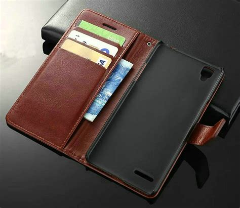 Flip Leather Cover For Oppo F1 S high quality phone oppo f1 buy cheap phone oppo