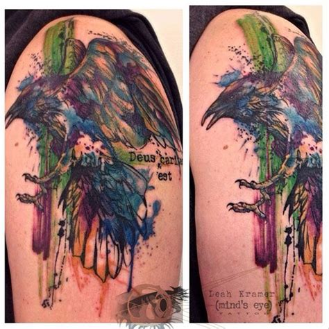 watercolor tattoo raven 17 best images about kramer s portfolio on