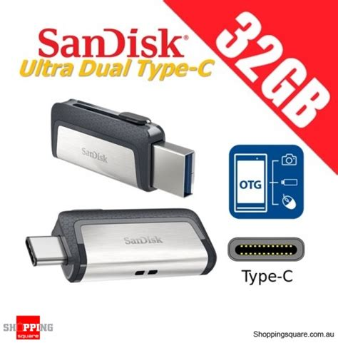 Sandisk Dual Drive 32gb Sandisk Ultra Dual Drive 32gb Usb Type C Usb 3 1 Smartphone Tablet Pc 150mb S Shopping