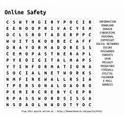 Download Word Search On Online Safety