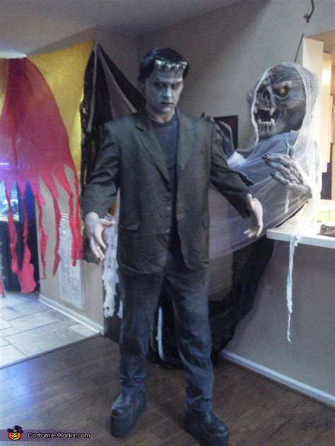 homemade frankenstein costume