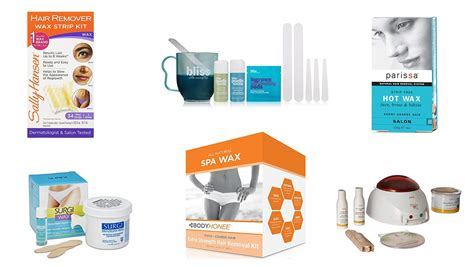 top 10 best at home waxing kits for hair removal
